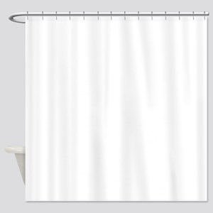 K.A. White Shower Curtain