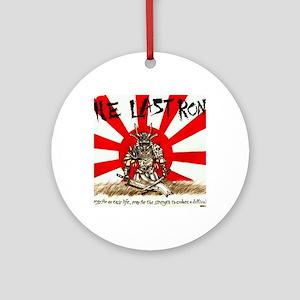 The Last Ronin Logo Round Ornament