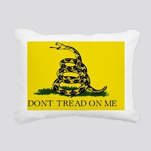 Gadsden Flag Rectangular Canvas Pillow