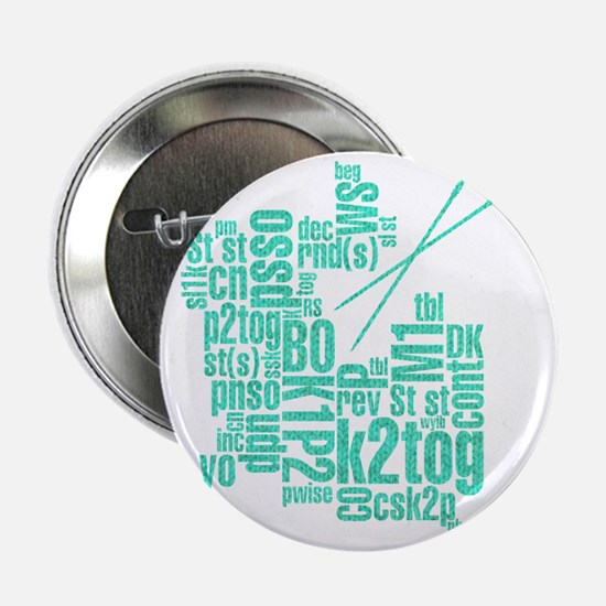 "K.A. Blue 2.25"" Button"