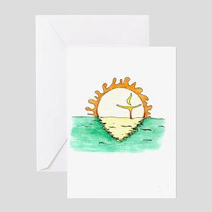 Chalice Sun Greeting Card