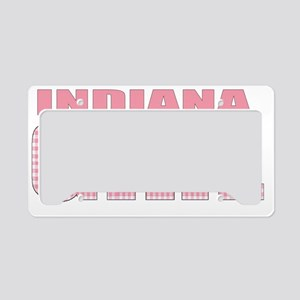 Indiana License Plate Holder