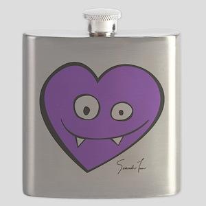 Vampire Heart Flask