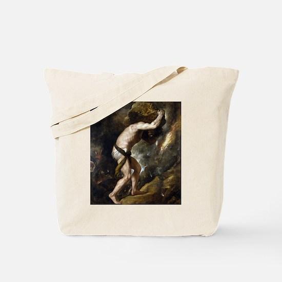 Sisyphus - Titian - c1549 Tote Bag