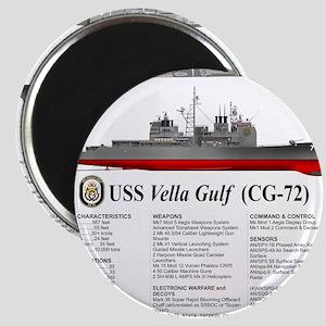 USS Vella Gulf CG-72 Magnet