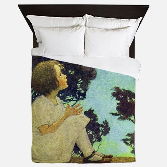 A Childs Book - Wish upon a star_SQ Queen Duvet