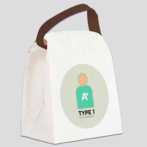 1-Perfectionist With Number Canvas Lunch Bag