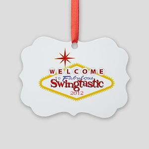 Swingtastic 2012 Picture Ornament