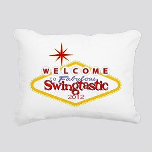 Swingtastic 2012 Rectangular Canvas Pillow