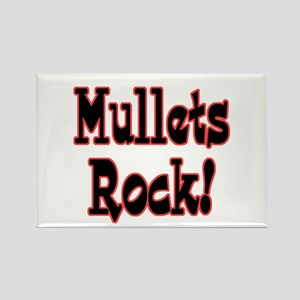 Mullets Rock! Design Rectangle Magnet