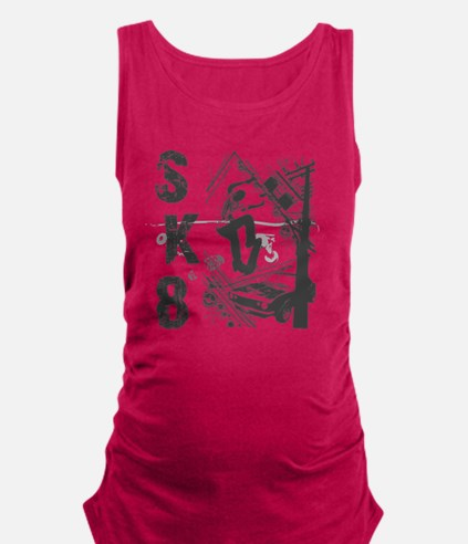 Skateboarding Extreme Sports Maternity Tank Top
