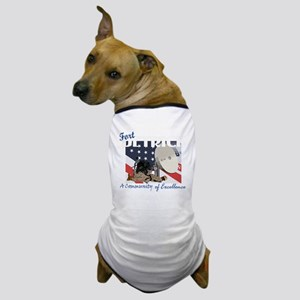 Fort Detrick Dog T-Shirt