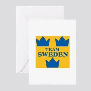 Team Sweden Greeting Cards (Pk of 10)