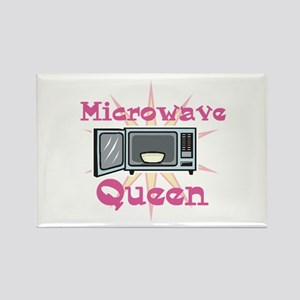 Microwave Queen Rectangle Magnet