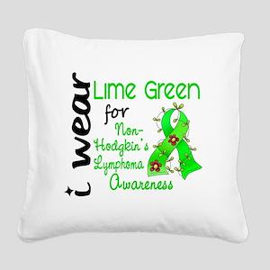 D Awareness Square Canvas Pillow