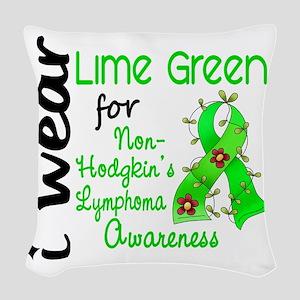 D Awareness Woven Throw Pillow