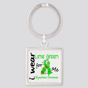 D Me Square Keychain