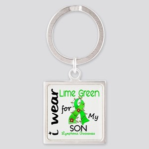 D Son Square Keychain
