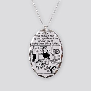 Nowt so daft... Necklace Oval Charm