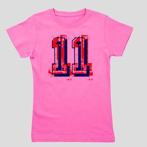 Yu Number 11 Girl's Tee