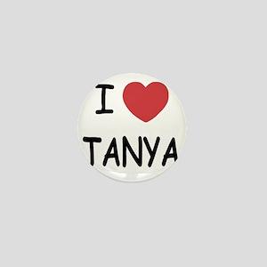 I heart TANYA Mini Button