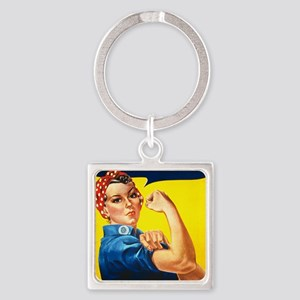 Choose Life Square Keychain