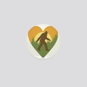 Bigfoot Love Mini Button