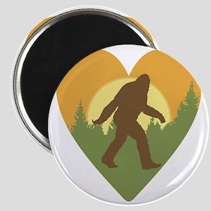 Bigfoot Love Magnet