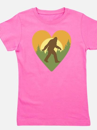 Bigfoot Love Girl's Tee