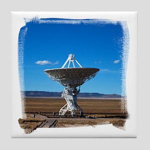 (16) VLA Dish Walkw... Tile Coaster