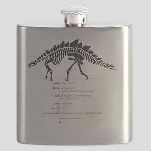 Stegosaurus Bones Flask