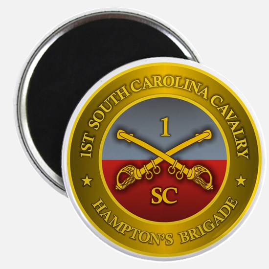 1st South Carolina Cavalry Magnet