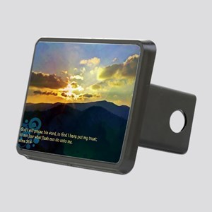 Psalms 56:4 Rectangular Hitch Cover