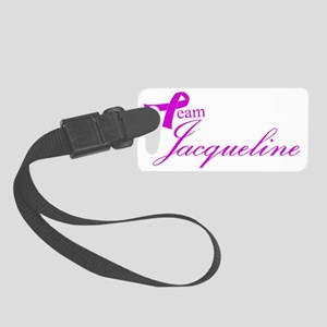 Team Jacqueline Small Luggage Tag