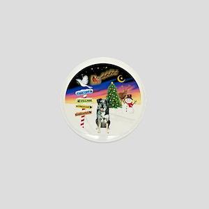 R-XmasSigns-CatahoulaLD Mini Button
