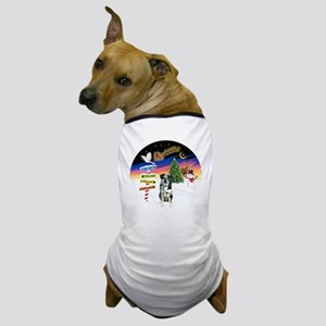 R-XmasSigns-CatahoulaLD Dog T-Shirt