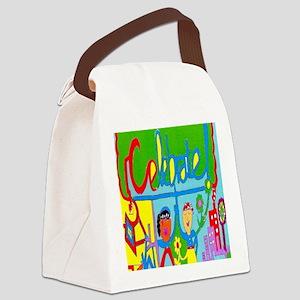Celebrate Maze Canvas Lunch Bag