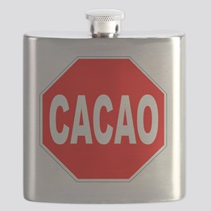 Cacao Stop Sign Flask
