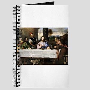 Supper of Emmaus - Titian - c1535 Journal