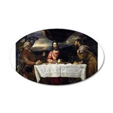 Supper of Emmaus - Titian - c1545 Wall Decal