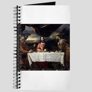 Supper of Emmaus - Titian - c1545 Journal