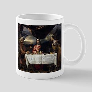 Supper of Emmaus - Titian - c1545 11 oz Ceramic Mu