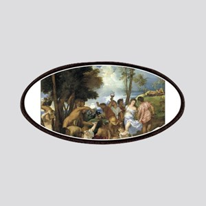 The Bacchanal of the Andrians - Titian - c1518 Pat