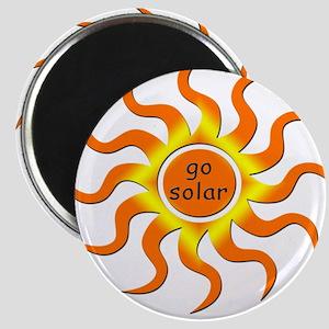 Solar Energy - Go Green Magnet