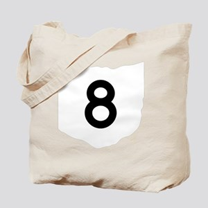 Route 8 Tote Bag