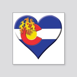 "Phoenix of Colorado Square Sticker 3"" x 3"""