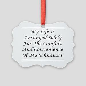 Schnauzer Convenience Picture Ornament