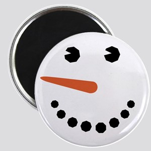 Snowman Face Funny Magnets