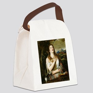 The Penitent Magdalene - Titian - 1555 Canvas Lunc