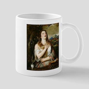 The Penitent Magdalene - Titian - 1555 11 oz Ceram